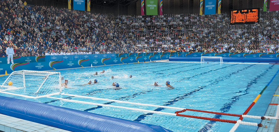 Our vision, the Water Polo arena