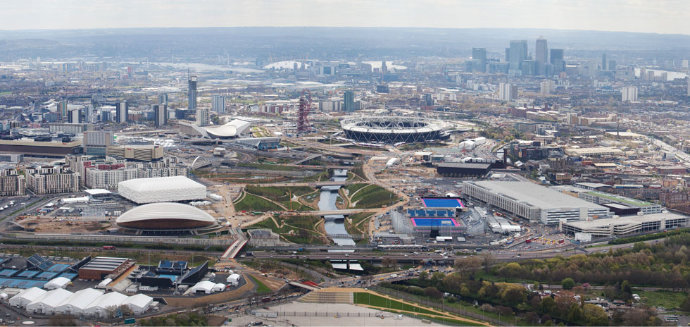 Olympic Park Aerial view