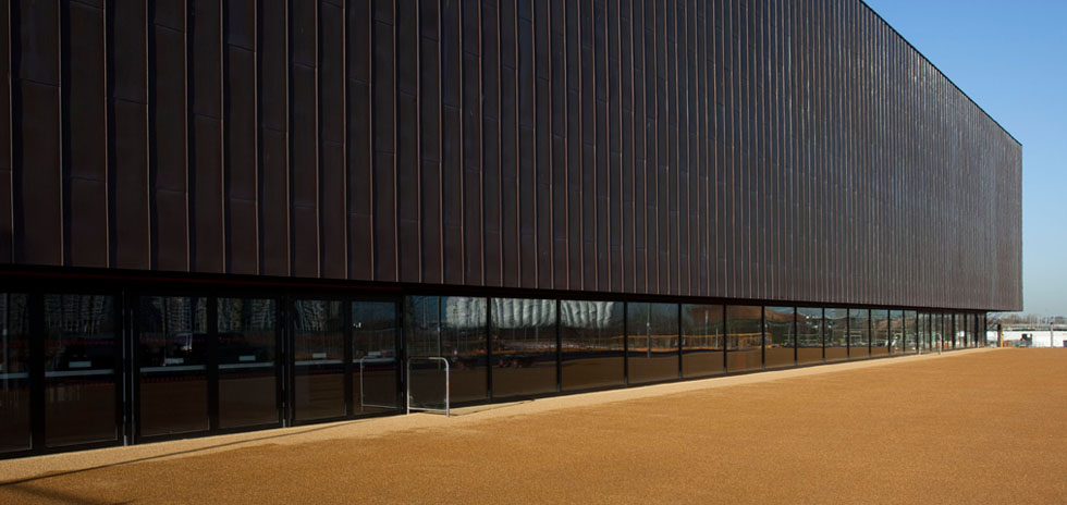 External finish of the Copper Box