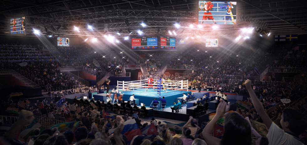 Our vision, Boxing at the ExCel