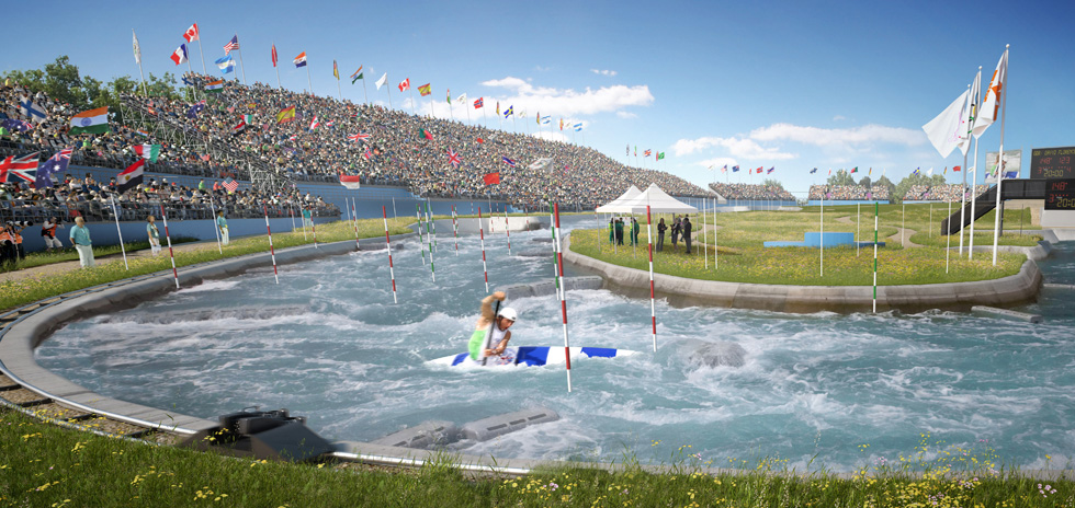 Our vision, Lee Valley White Water Centre